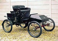 Steam Car | Foster steam car, 1901. #Antiques