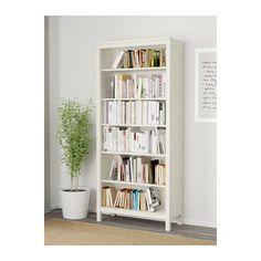 HEMNES Bookcase - white stain - IKEA