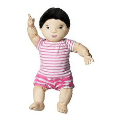 LEKKAMRAT Doll IKEA Encourages role play; children develop social skills by imitating grown-ups and inventing their own roles.