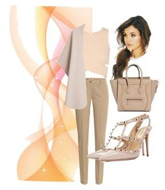 """Beige affair"" by karlanrossi ❤ liked on Polyvore"