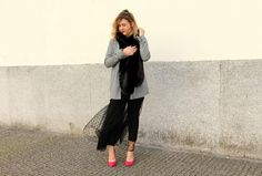 Coco and Jeans: Look: Black Polka dots