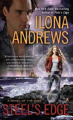 Cover Reveal: Steel's Edge (The Edge #4)by Ilona Andrews. Art by Victoria Verbell. Coming 11/27/12