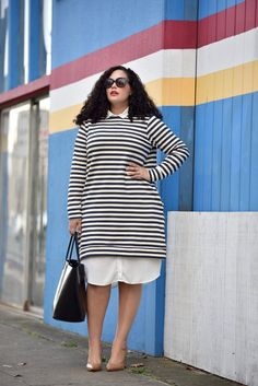 Outfit Details: http://taneshaawasthi.com/post/132058608853/stripes-on-stripes