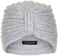 Pin for Later: Diese Kopfbedeckung ist alles was ihr braucht um stylisch durch diesen Winter zu kommen   Topshop grauer Strickturban (16 €)