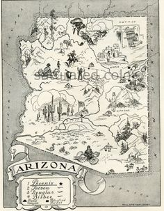 Vintage maps make great nostalgic, sentimental gifts that also look great framed and hung on the wall - Best gifts gift guide - Wendy James Designs