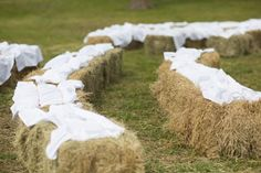 Hay Bales For Seating
