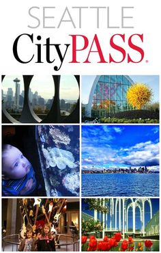 Seattle CityPASS - includes Space Needle, Chihuly Museum, Seattle Aquarium, harbour cruise, etc Seattle Map, Seattle Vacation, Seattle Travel, Seattle City, Oregon Travel, Vacation Spots, Travel Usa, Travel Tips, Vacation Ideas
