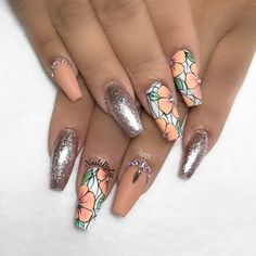 """1,225 Likes, 12 Comments - Nail Art Orange County (@nailsbyly) on Instagram: """"Nails inspired by @creations_by_josiah"""""""