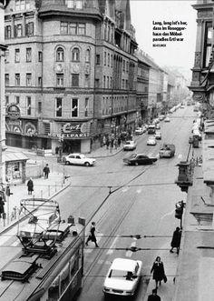 Annenstraße, Roseggerhaus, Möbelparadies Ertl, Graz Alter, Austria, Street View, Vintage, Graz, Old Pictures, Vintage Comics