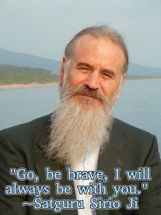 """Go, be brave, I will always be with you."" 