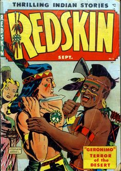 Comic Book Cover For Redskin #6
