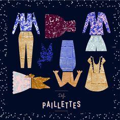 CONCOURS - Défi Paillettes sur Artesane.com ! Créez votre tenue de réveillon 2016 et tentez de gagner de superbes lots !