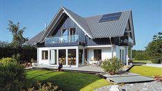 Moderner Landhausstil mit Wintergarten - E 15-205.1 - SchwörerHaus KG www.schwoererhaus.de
