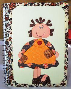 Caderno em Patchwork Embutido!