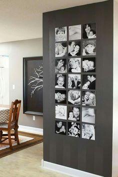 55 ausgefallene Bilderwand und Fotowand Ideen - Gallery Wall Inspirations - Pictures on Wall ideas