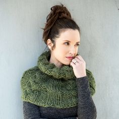 Loops & Threads® Lush Alpaca™ Cable Knit Cowl http://www.michaels.com/m/B_81561