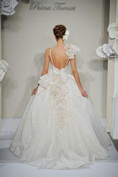 Southern wedding - Pnina Tornai ballgown