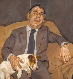 Guy and Speck, 1980-1981  Lucian Freud