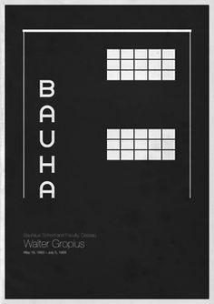 Póster Minimalista Bauhaus