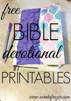 Free Bible Printables - Jan. 2016 - Sarah E. Frazer