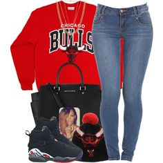 Chicago Bulls, created by oh-aurora on Polyvore