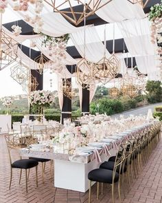 Wedding Tent Ideas For A Stunning Reception ❤︎ Wedding planning ideas & inspiration. Wedding dresses, decor, and lots more. Wedding Reception Tables, Tent Wedding, Reception Decorations, Event Decor, Dream Wedding, Wedding Summer, Wedding Receptions, Modern Wedding Decorations, Reception Entrance