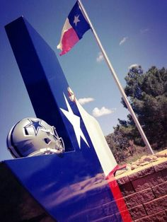 Lone Star State. We love flying our flag, what a country.