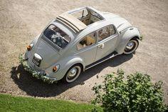 Décoration voiture mariage – 55 idées de déco romantique