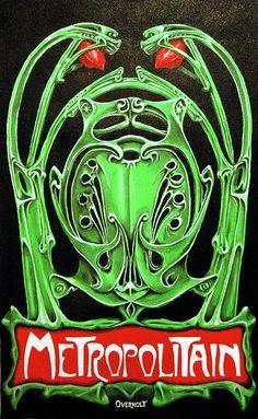 Paris metro: the romance. Motifs Art Nouveau, Art Nouveau Design, Francia Paris, Hector Guimard, Metro Paris, Jugendstil Design, Propaganda Art, Art Deco, Art Nouveau Architecture