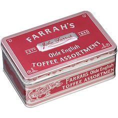 "Farrah's of Harrogate - Toffee (Dose ""Olde English Assortment"")"