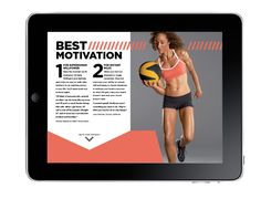 Interactive Magazine Article by Emily Sutton, via Behance