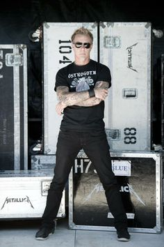 James Hetfield by Ross Halfin Photography