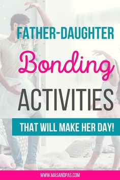 Fathers have a different, yet special bond with their daughters. There are many different dad and daughter activities that both can do every so often. Here are 20 father daughter bonding activities you can do to build that special bond and create some special memories! #relationships #fatherdaughter #familyactivities Sibling Relationships, Communication Relationship, Bonding Activities, Fun Activities For Kids, Strong Family, Happy Family, Dad Dancing, Parents Be Like, Father Daughter