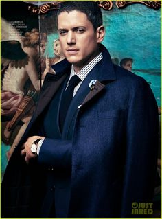 Wentworth Miller on the cover of August Man Malaysia's September 2014 issue