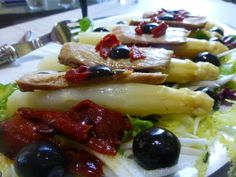 Spanish Cuisine, Spanish Tapas, Le Chef, Fruit Salad, Seafood, Brunch, Food And Drink, Appetizers, Healthy Recipes