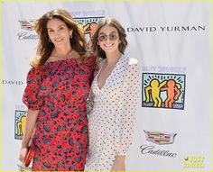 Cindy Crawford & Daughter Kaia Gerber Host Best Buddies Mother's Day Luncheon
