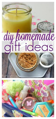 10 DIY Homemade Gift Ideas