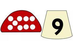 Математические мухоморчики Numbers Preschool, Math Numbers, Math Games, Preschool Activities, Number Flashcards, Busy Book, Kindergarten, Crafts For Kids, Language