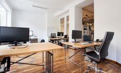 Top Arbeitsplatz mit Getränkeflatrate #Büro, #Bürogemeinschaft, #Office, #Coworking, #München, #Munich
