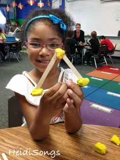 Making #Shapes with Sticks & Modeling Clay. Addresses common core for shapes in Kindergarten.