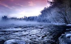 Free Microsoft Screensavers Winter Scene | Winter Scenes Scene ~ Beautiful Winter Desktop Wallpaper, Free ...