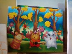 Create by :Trafis Oil painting**Sanggar Lukis Robby AR**