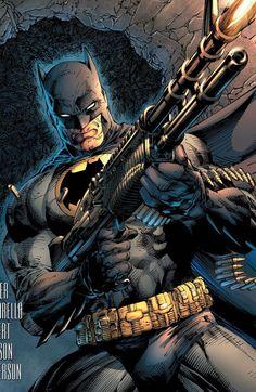'Dark Knight III: The Master Race' boasts variant covers by Scott McDaniel, Klaus Janson, John Romita Jr., Frank Miller and Jim Lee. Batman Vs, Jim Lee Batman, Batman Dark, Batman The Dark Knight, Superman, Batman 2019, Funny Batman, Batman Stuff, Comic Book Covers