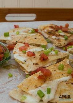 Cream Cheese & Green Tabasco Quesadilla Recipe-1123
