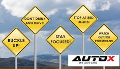 Obey Traffic laws!  #AutoX #WeLoveCars