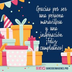 Ya lo use Happy Birthday Quotes, Happy Birthday Images, Happy Birthday Greetings, Birthday Messages, Birthday Wishes, Bday Cards, Happy B Day, Birthdays, Greeting Cards