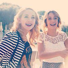 Hermanitas de #violetta3!! Te amo amiga!