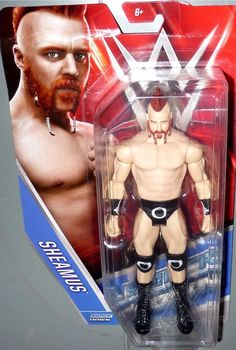 SHEAMUS w/ Mohawk - WWE Mattel Basic Series 59 Action Toy Figure IN HAND DMG PKG in Toys & Hobbies, Action Figures, Sports | eBay