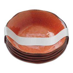 TAG Veranda Bowls Coral