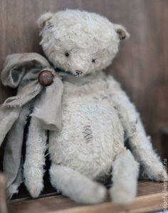 Мишки Тедди ручной работы: My old bear... Handmade.